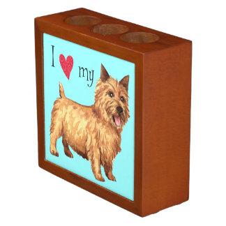I Love my Norwich Terrier Desk Organizers