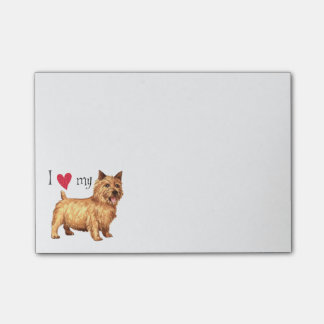 I Love my Norwich Terrier Post-It Notes