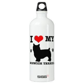 I Love my Norwich Terrier SIGG Traveler 1.0L Water Bottle