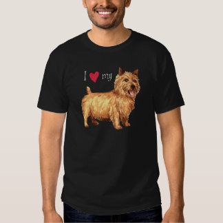 I Love my Norwich Terrier T Shirt