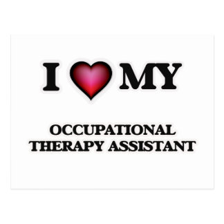 I love my Occupational Therapy Assistant Postcard