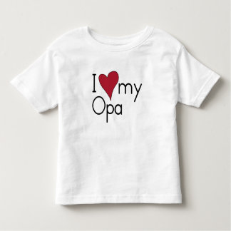I love my Opa Toddler T-shirt