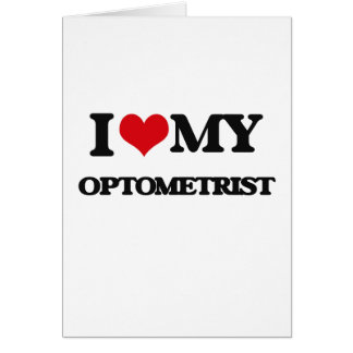 I love my Optometrist Card