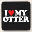I LOVE MY OTTER COASTER