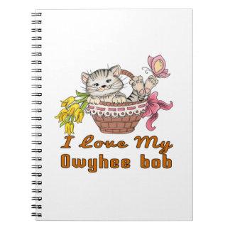 I Love My Owyhee bob Spiral Note Book