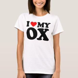 I LOVE MY OX T-Shirt