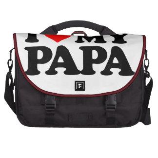 I LOVE MY PAPA COMMUTER BAG