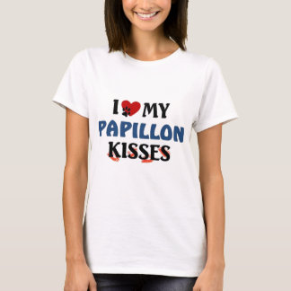 I love my Papillon Kisses T-Shirt
