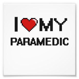 I love my Paramedic Photographic Print