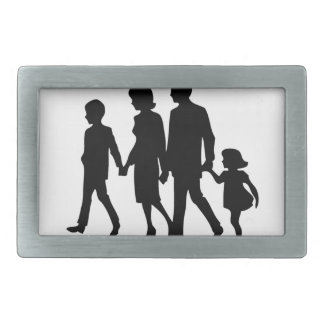 I Love My Parents Because They Are My Family Belt Buckles