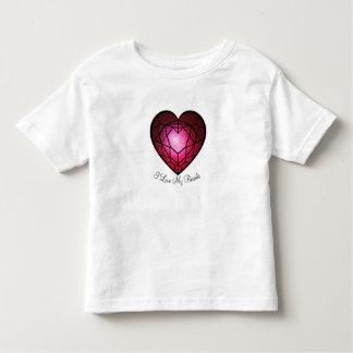 I love my parents toddler t-shirt