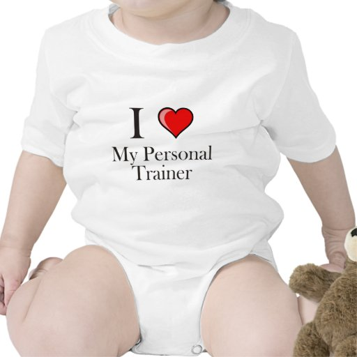 I love my Personal Trainer Tee Shirts
