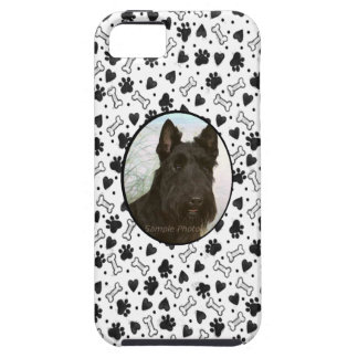 I Love My Pet Dog Custom Photo in Black and White iPhone 5 Covers