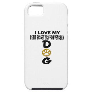 I Love My Petit Basset Griffon Vendeen Dog Designs iPhone 5 Covers