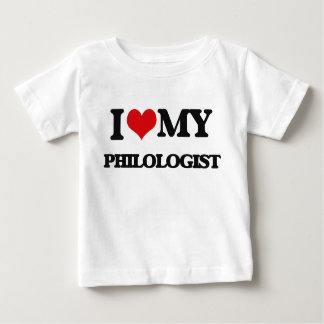 I love my Philologist Baby T-Shirt