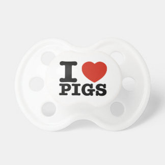 I love my pig pacifier