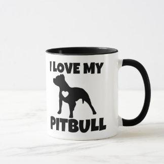 I Love My Pitbull Mug