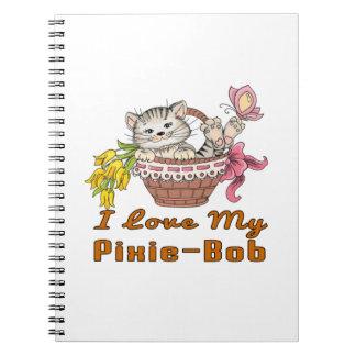 I Love My Pixie-Bob Spiral Note Book