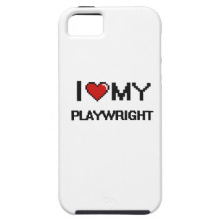 I love my Playwright iPhone 5 Cover