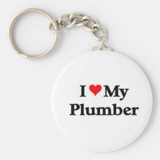 I love my Plumber Keychain