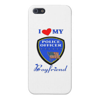 I Love My Police Boyfriend iPhone 5 Covers