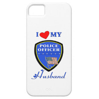 I Love My Police Husband iPhone 5 Cover