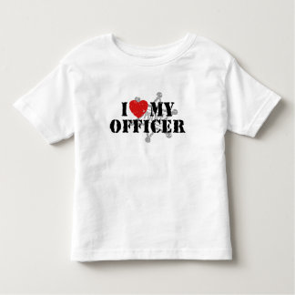 I Love My Police Officer Tees