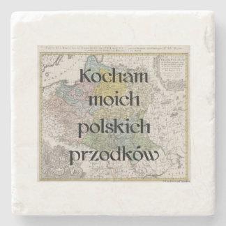I Love My Polish Ancestors | Custom Coasters
