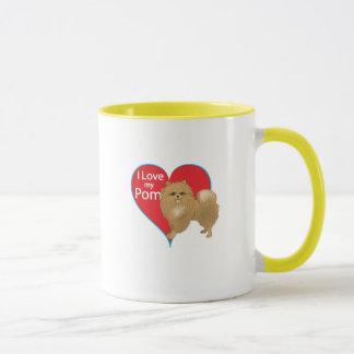 I Love My Pom Mug
