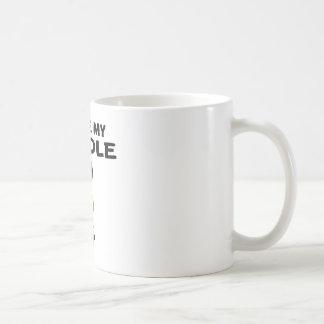 I Love My Poodle Dog Designs Coffee Mug