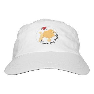 I Love My Poodle Dog Hat