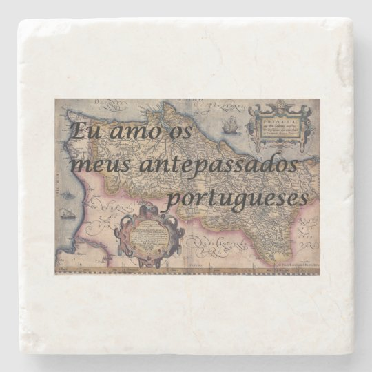 I Love My Portuguese Ancestors | Custom Coasters Stone Beverage Coaster