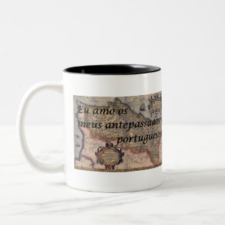I Love My Portuguese Ancestors | Custom Mug