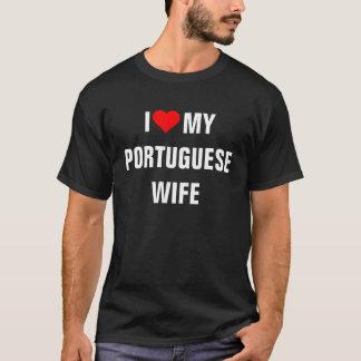 """I Love my Portuguese wife"" T-Shirt"