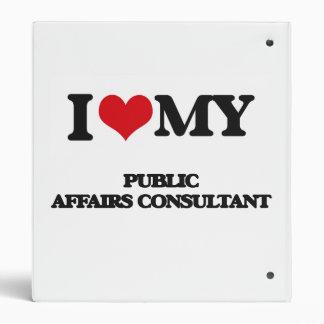 I love my Public Affairs Consultant Vinyl Binders