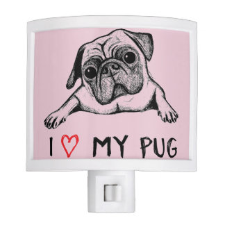 I love my pug night light design