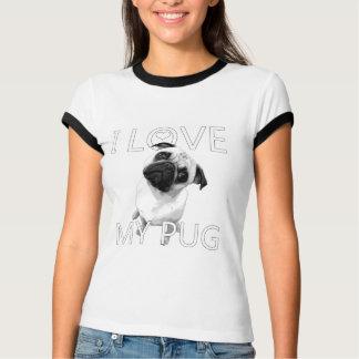 I Love My Pug T-Shirt