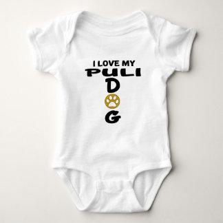 I Love My Puli Dog Designs Baby Bodysuit