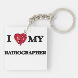 I love my Radiographer Keychain