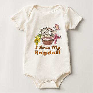 I Love My Ragdoll Baby Bodysuit