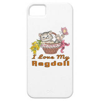 I Love My Ragdoll Case For The iPhone 5