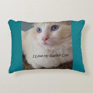 I Love My Ragdoll Cat Decorative Pillow
