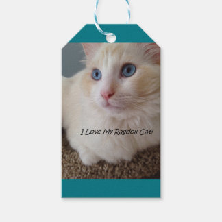 I Love My Ragdoll Cat Pack Of Gift Tags