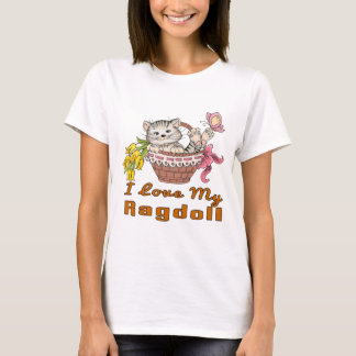 I Love My Ragdoll T-Shirt