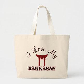 I Love My RAKKASAN Jumbo Tote Bag