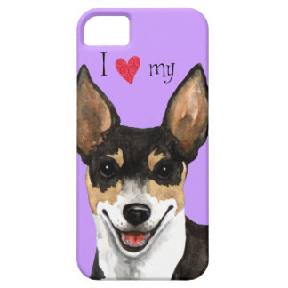 I Love my Rat Terrier iPhone 5 Case