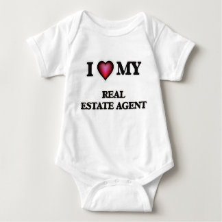 I love my Real Estate Agent Baby Bodysuit