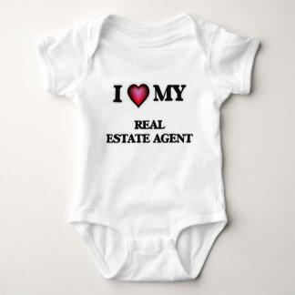 I love my Real Estate Agent Baby Bodysuit