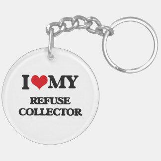 I love my Refuse Collector Acrylic Key Chain