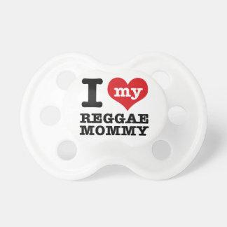 I love my reggae dance Mom Pacifier